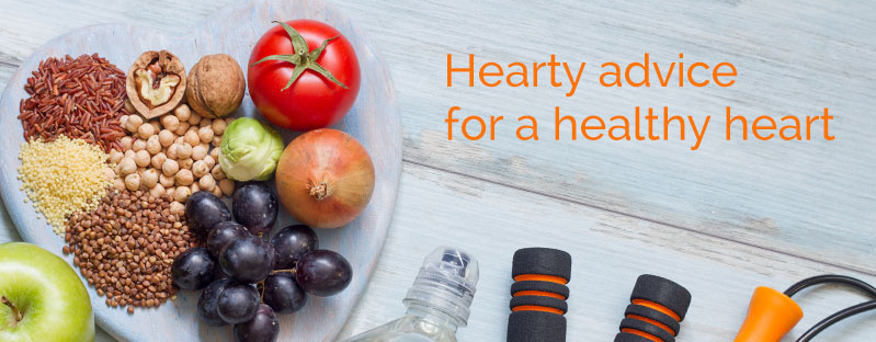 Hearty advice for a healthy heart