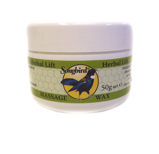 Songbird Herbal Lift Massage Wax - 50g