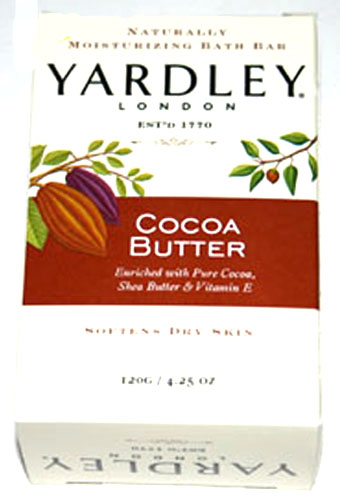 Yardley Cocoa Butter Bath Bar - 120g