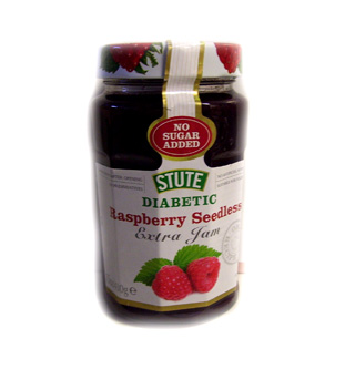 Stute Diabetic Raspberry Seedless Extra Jam - 430g