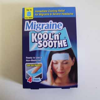 Kool n smoothe migraine - 4 sheets