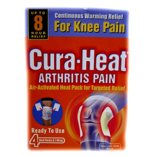 Cura-Heat Arthritis Pain (Knee) - 4 pack