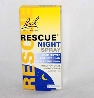 Bach Rescue Night Spray - 20ml spray
