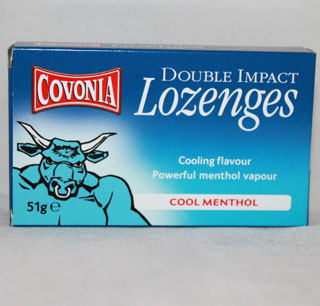 Covonia Lozenges Cool Menthol - 51g
