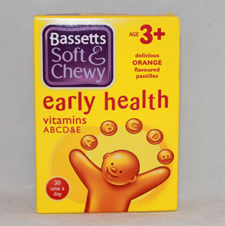 Bassetts Soft & Chewy Early Health Orange - 30 one a day