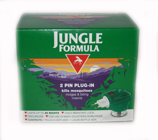 Jungle Formula 2 Pin Plug-In Mosquito Killer