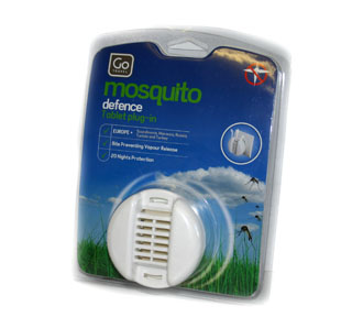 Go Travel Mosquito Defence Tablet Plug-in