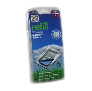 Go Travel Mosquito Defense Plug-in Refills - 30 tablets