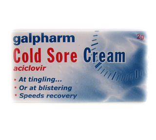 Galpharm Cold Sore Cream - 2g