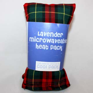 Lavender Microwaveable Heat Pack - one size