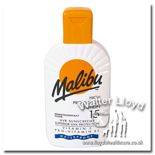 Malibu High Protection Lotion 15 - 200 ml  e