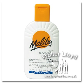 Malibu high protection lotion spf 20 - 200ml