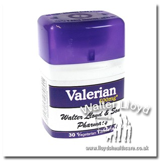 Valerian 500mg - 30 tablets