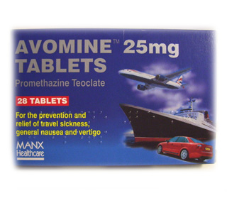 Avomine Tablets 25mg - 28 tablets
