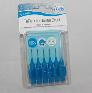 TePe Interdental Brush Blue - 0.6mm