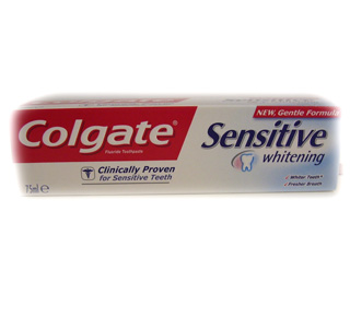 Colgate Sensitive Whitening toothpaste - 75ml