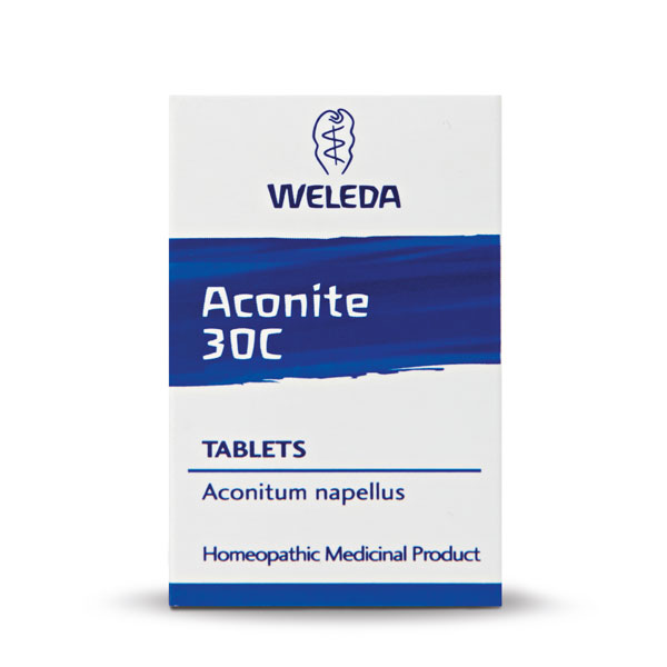 Weleda Aconite 30C - 125 Tablets