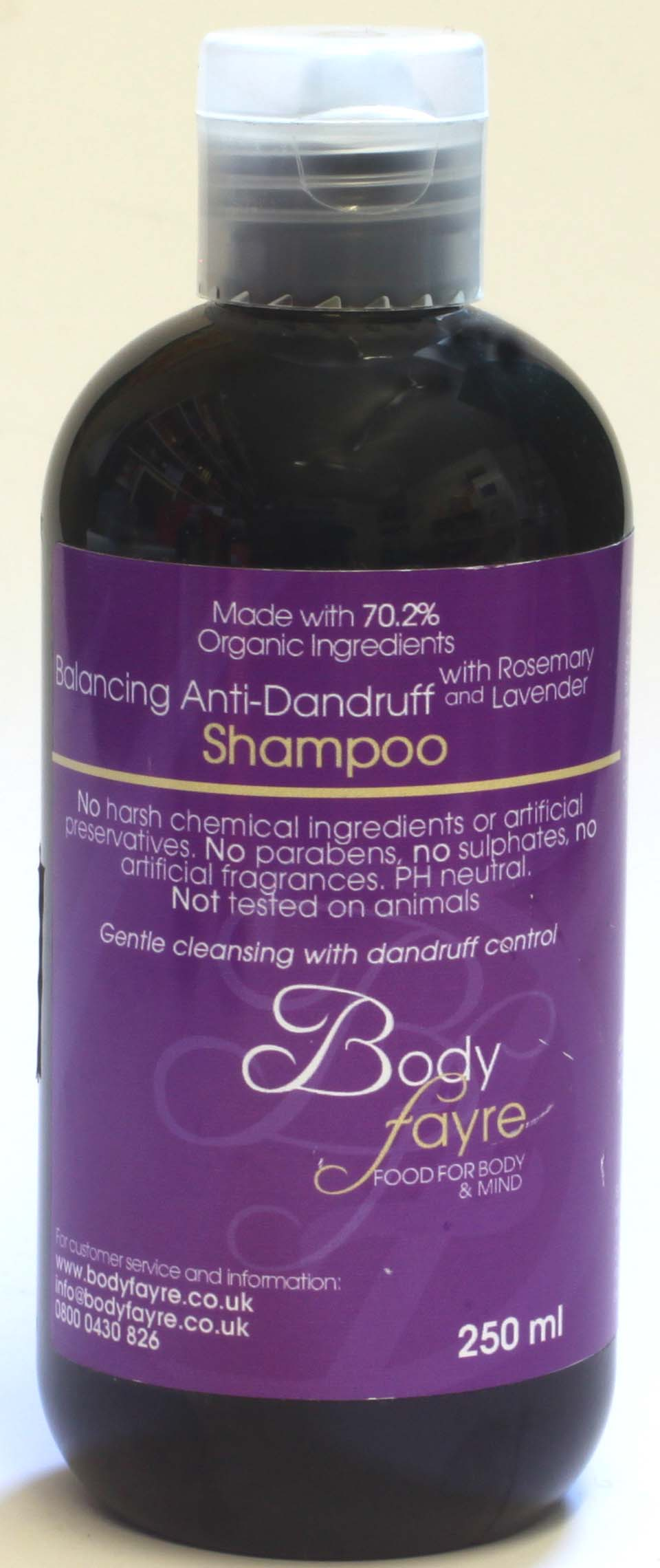 Body Fayre Balancing Anti-Dandruff Shampoo 250ml