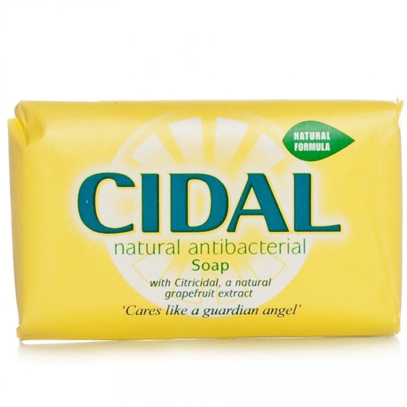 Cidal Natural Antibacterial Soap - 125g