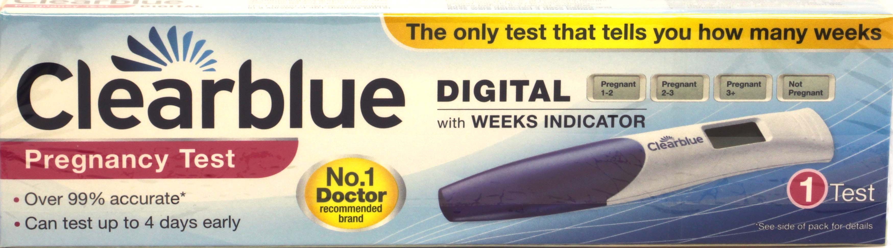 Clearblue  Digital Pregnancy Test 1