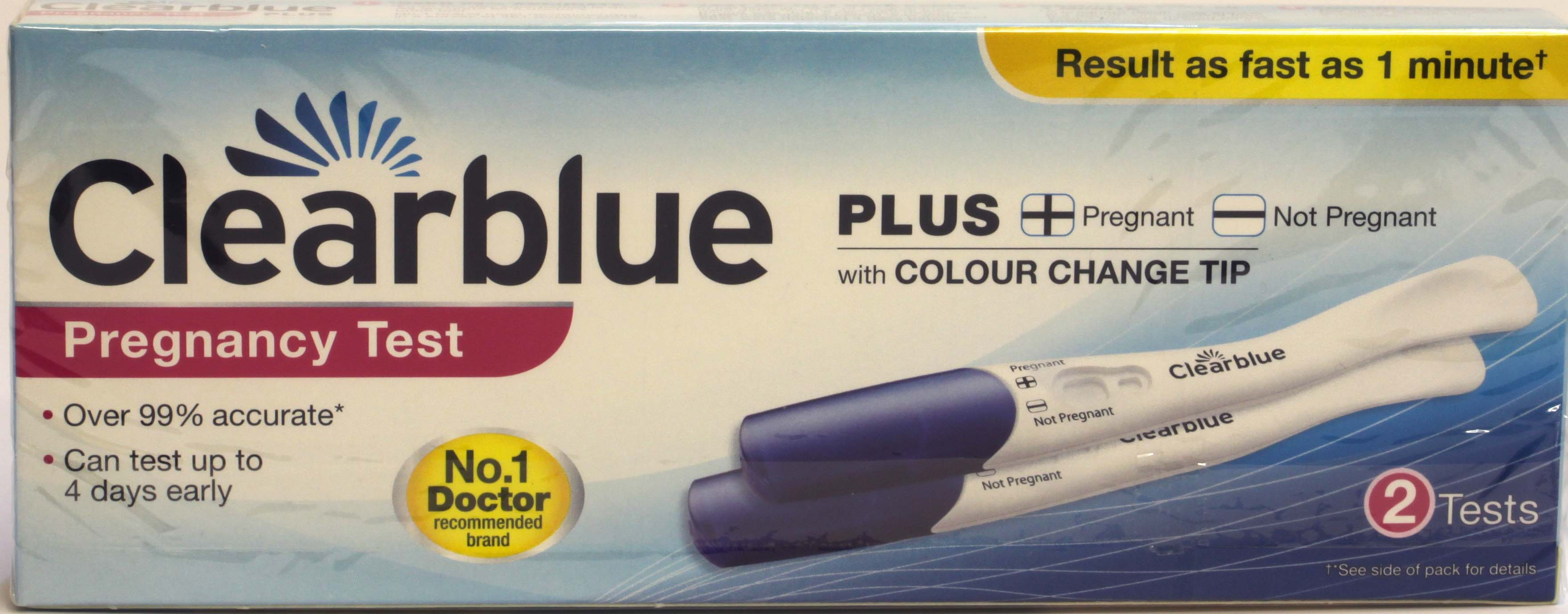 Clearblue  Pregnancy Test - 2 Test