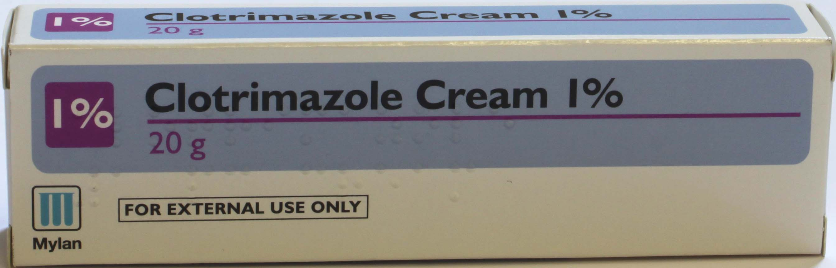 Clotrimazole Cream 1% - 20g (Mylan)