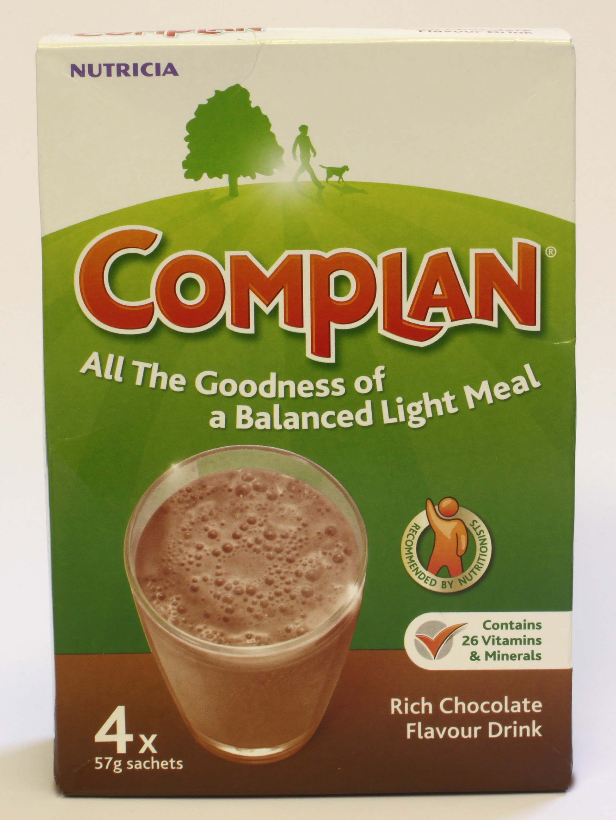 Complan Rich Chocolate Flavour 4 Sachets