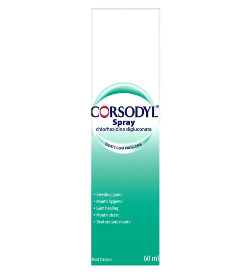 Corsodyl Mouth Spray - 60ml.