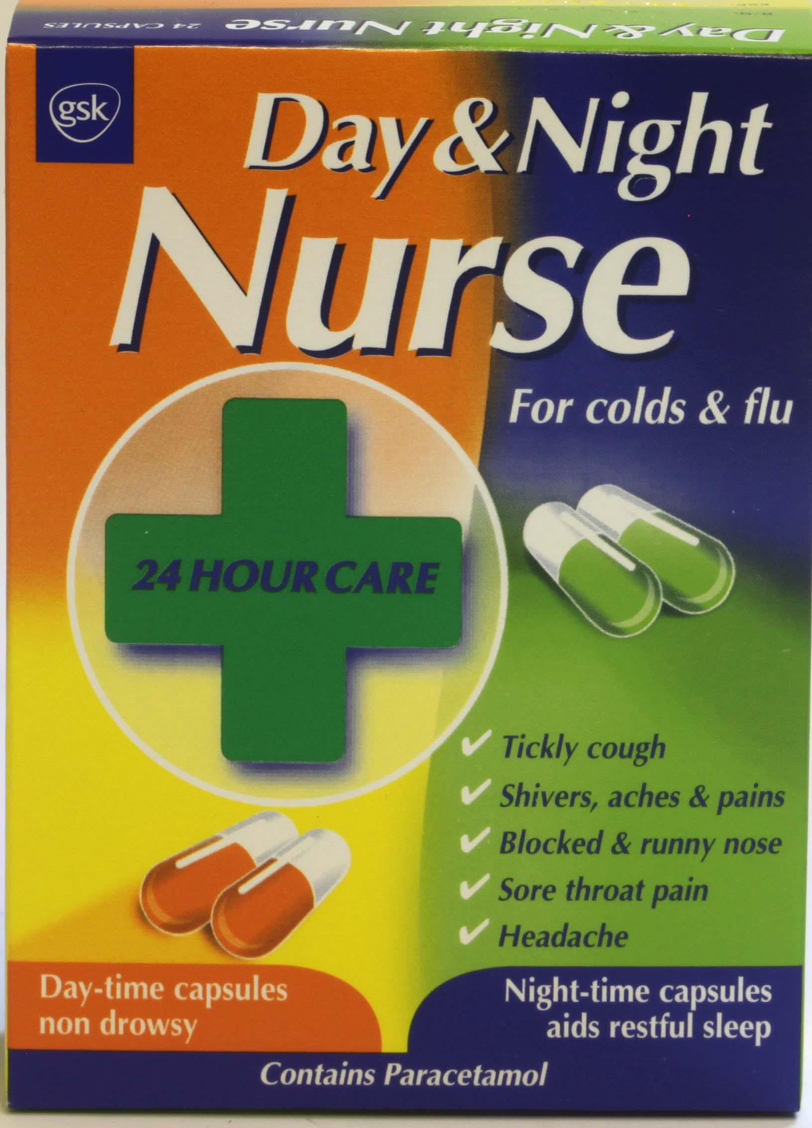 Day & Night Nurse Capsules 20