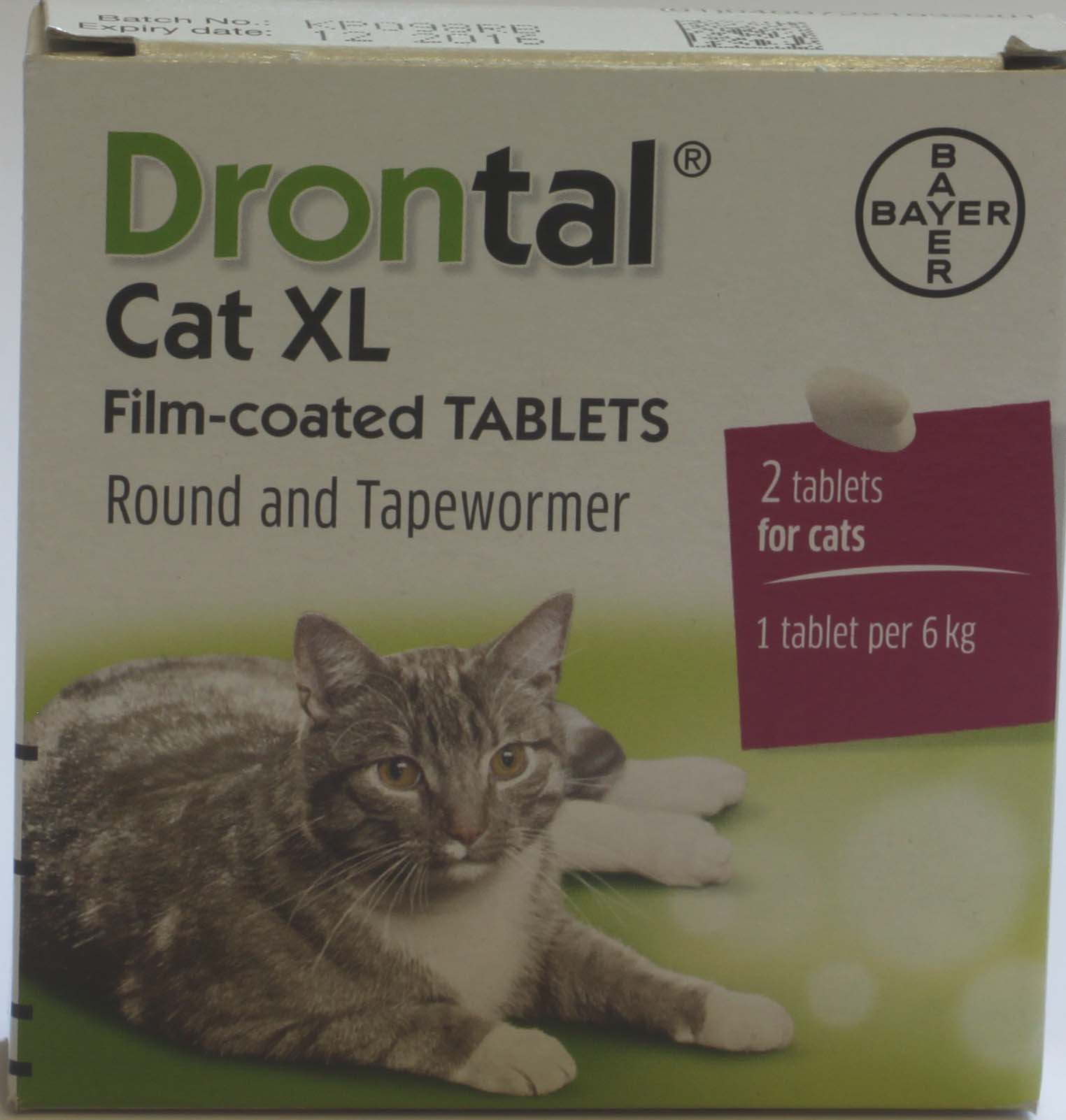 Drontal Cat  XL  - 2 tablets