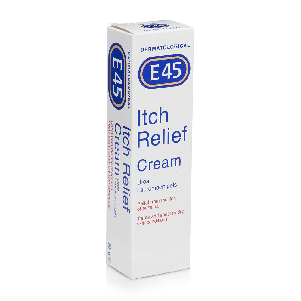 E45 Itch Relief Cream 100g Online Pharmacy Uk