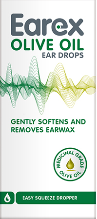 Earex Olive Oil Ear Drops 10ml