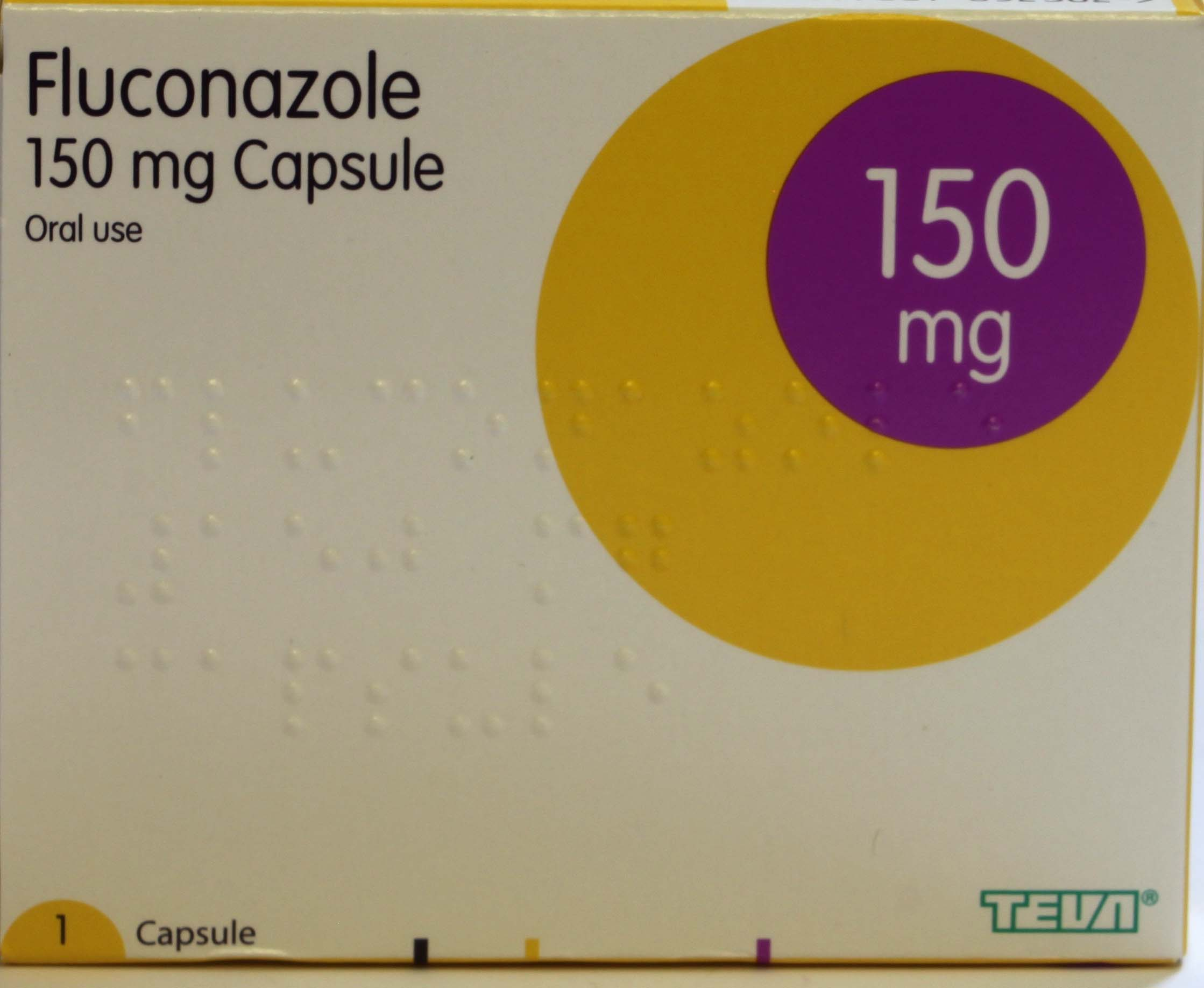 Fluconazole - 150mg  One capsules (Teva)