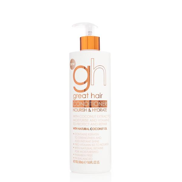 gh Great Hair Conditioner Nourish & Hydrate 500ml