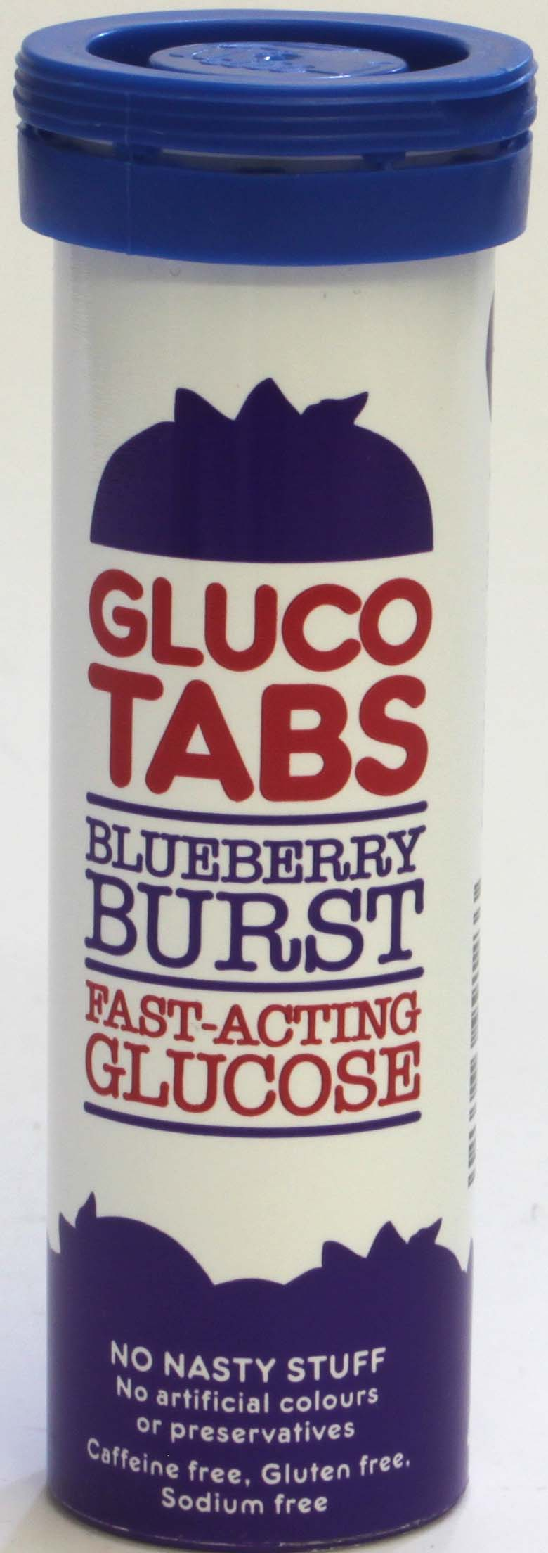 Gluco Tabs Blueberry Glucose Tablets 10