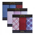 Mens Handkerchiefs Classic Gold by Hetherington Gray 3