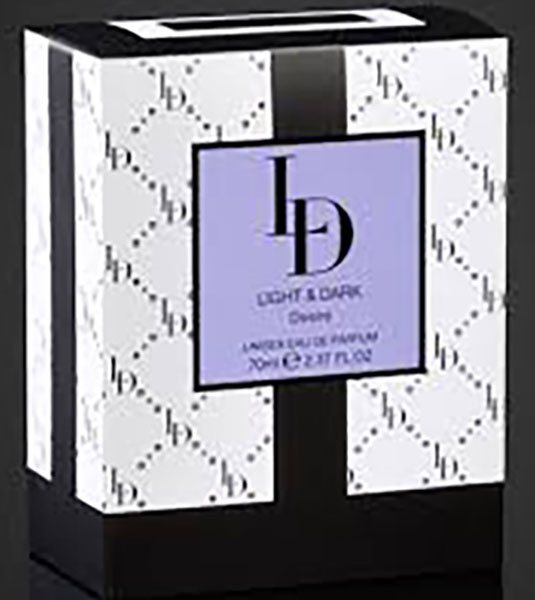 Leighton Denny Light & Dark Desire Unisex Eau De Parfum 70ml