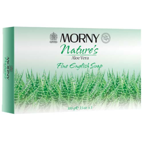 Morny  Fine English Soap  Aloe Vera 3 x 100g