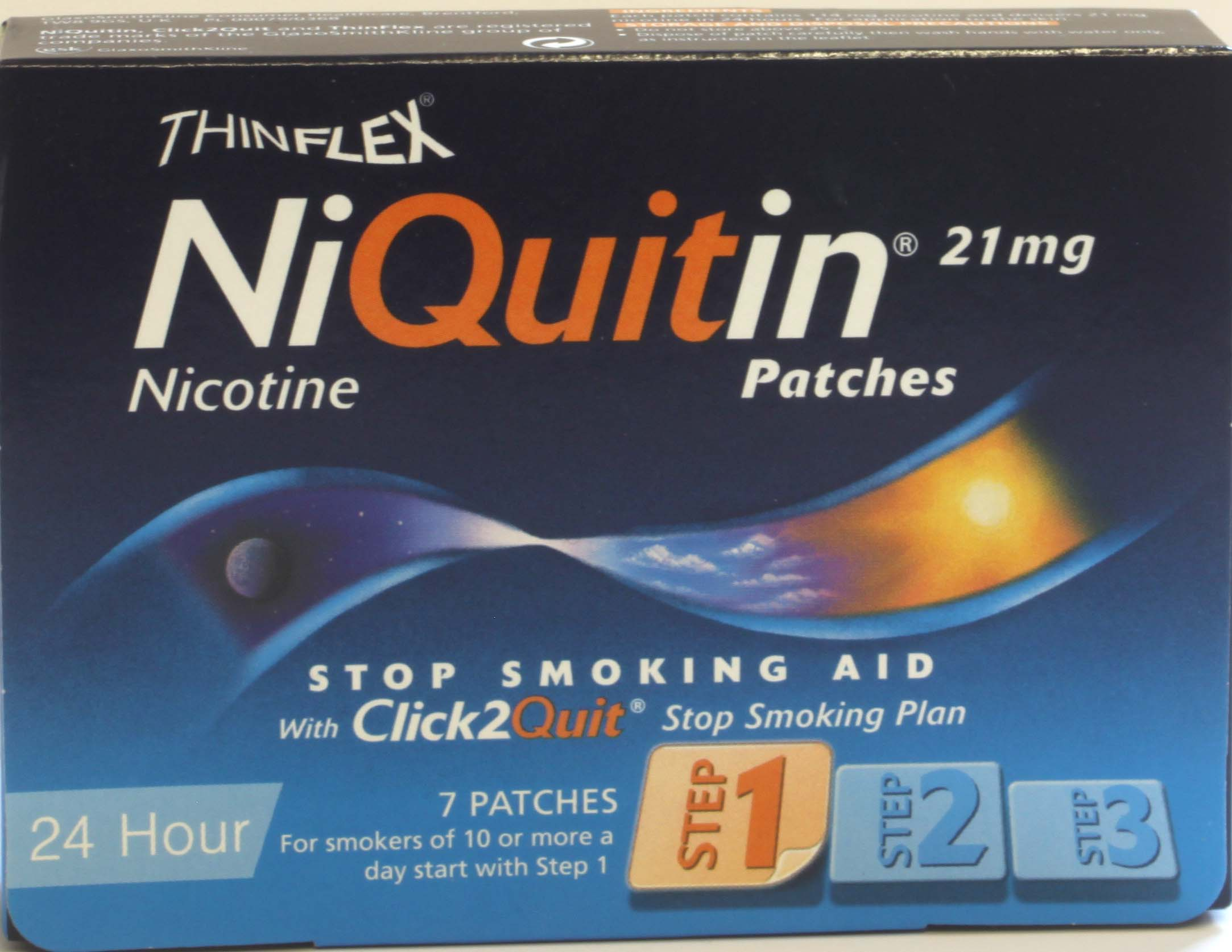 NiQuitin  Patches 21mg Step 1