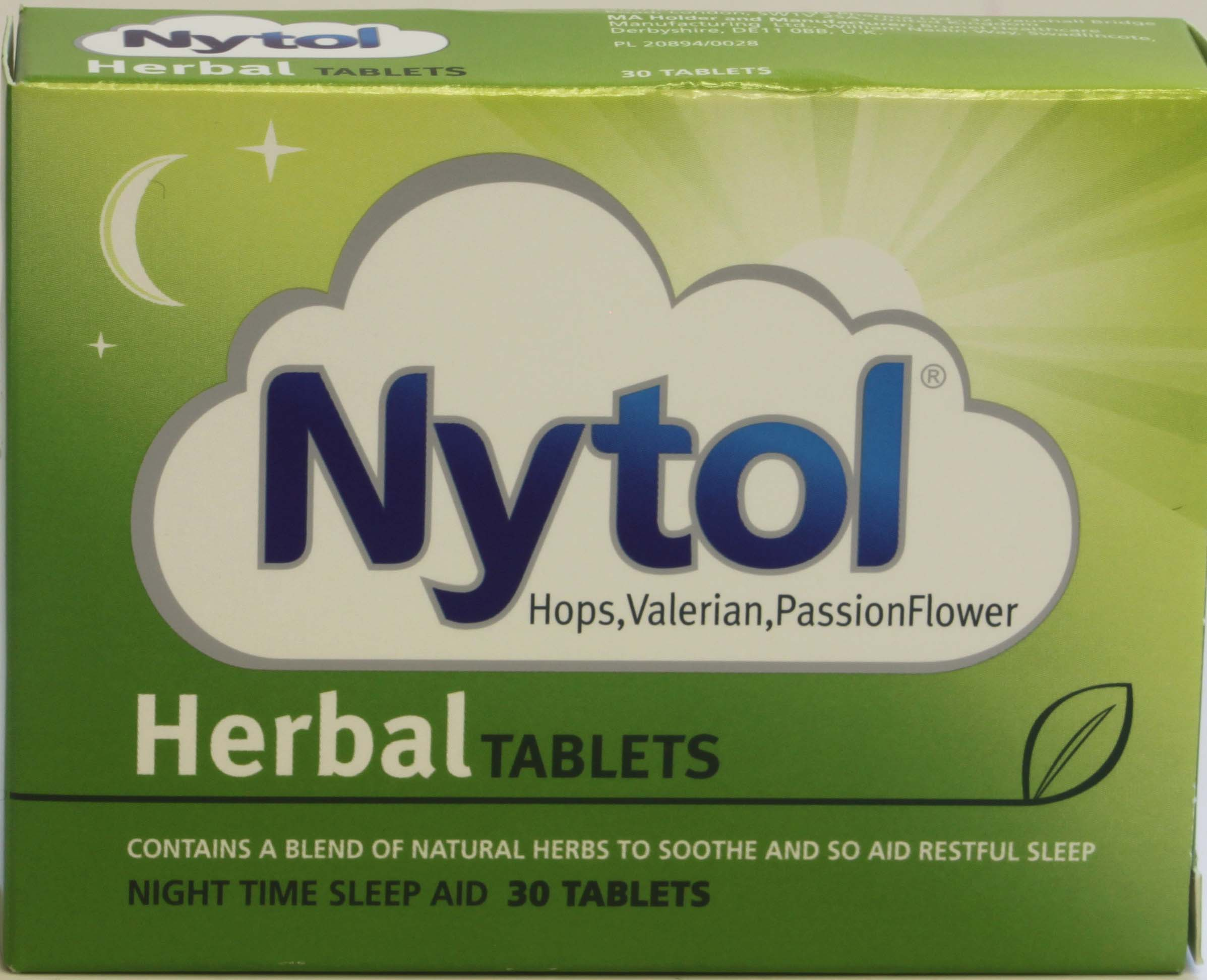 Nytol Herbal Tablets - 30