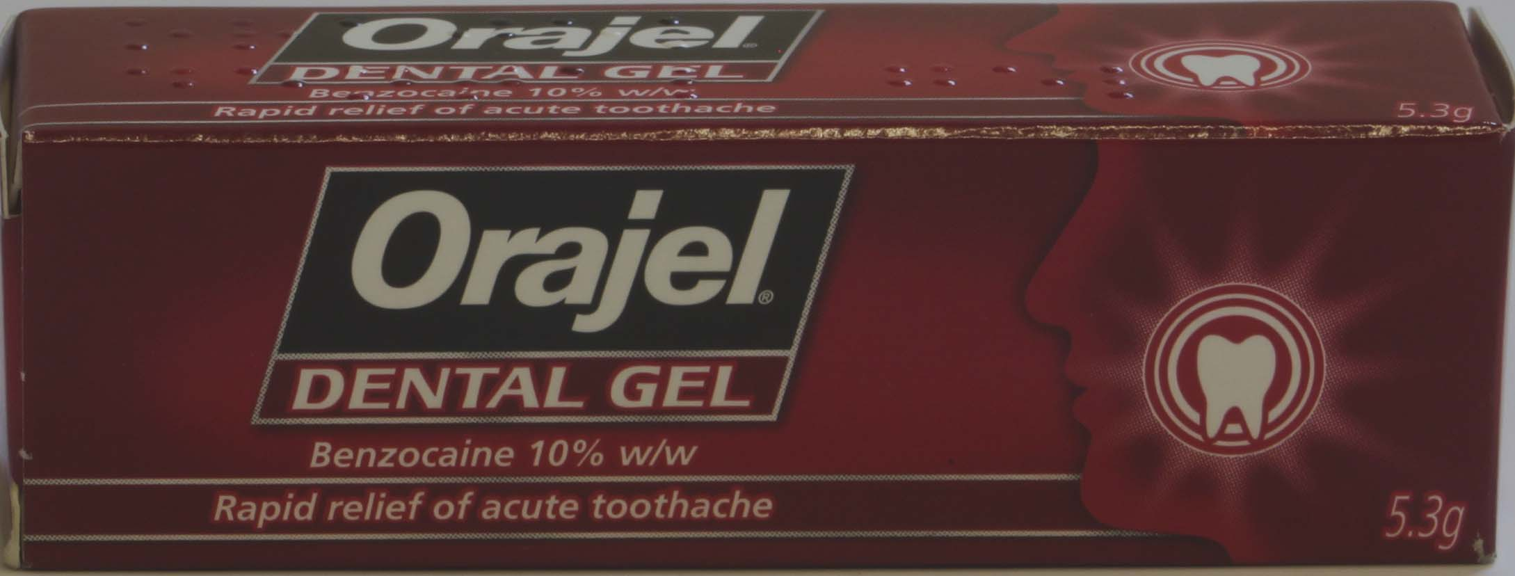 Orajel Dental Gel - 5.3g