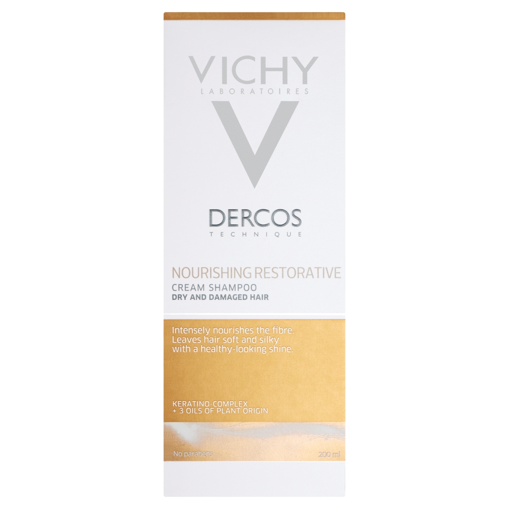 Vichy Dercos Nourishing Reparative Cream Shampoo 200ml