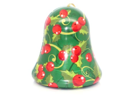 Bronnley Spiced Ginger Soap in a Bell Shaped Tin 80g