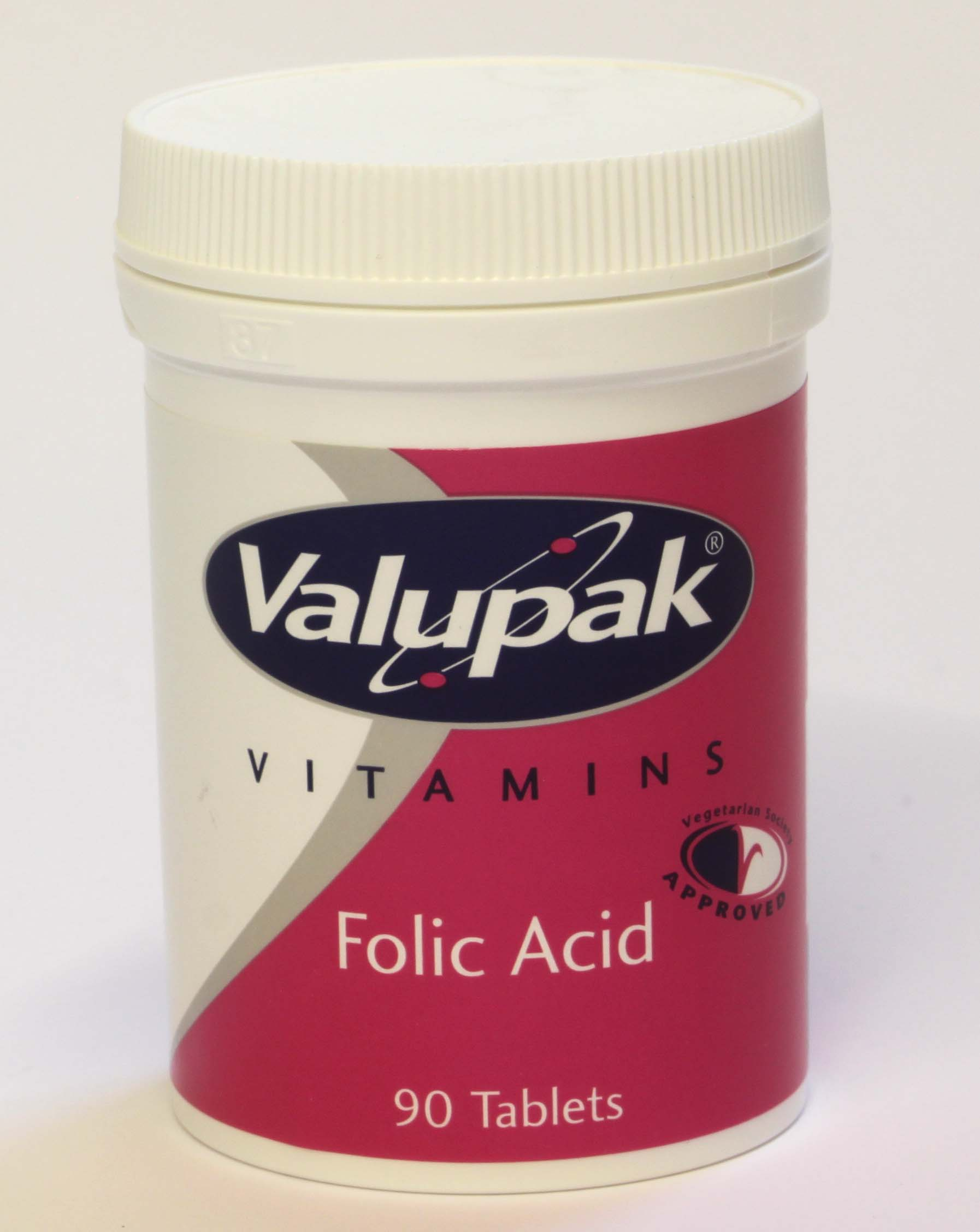 Valupak  Folic Acid - 90 tablets