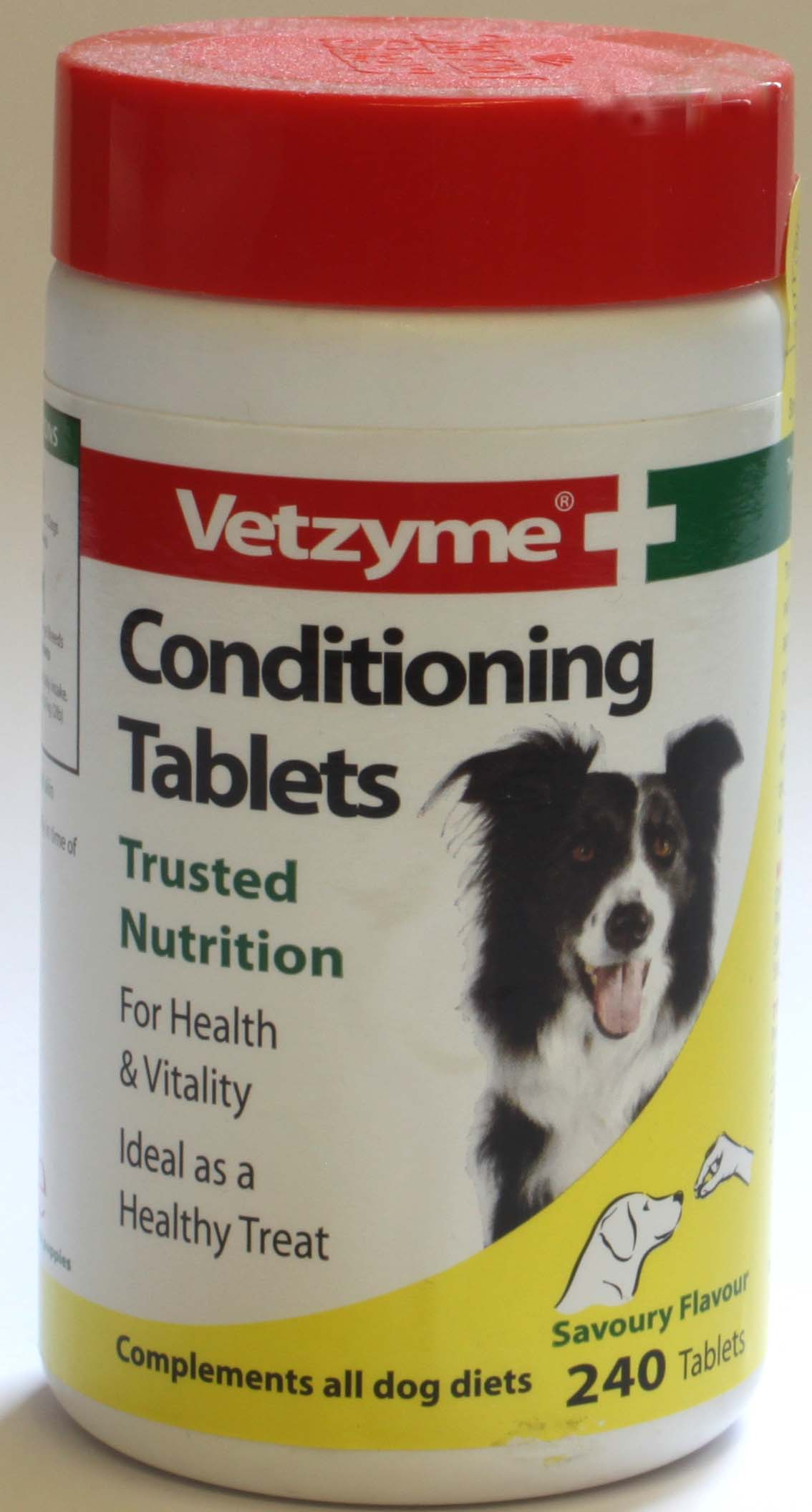 Vetzyme Conditioning Tablets - 240 tablets