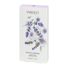 Yardley English Lavender Luxury Soap 3 x 100g