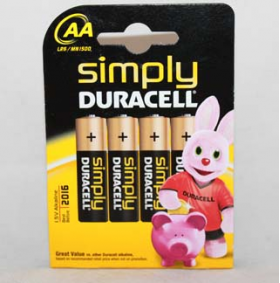 Simply Duracell AA - 4 x AA