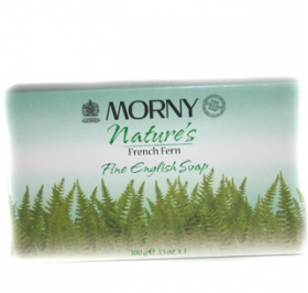 Morny Fine English Soap French Fern 3 x 100g