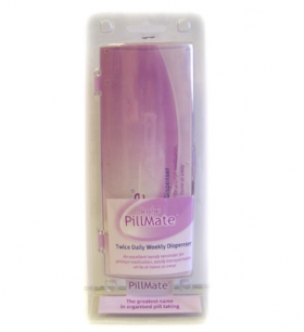 Pillmate Twice Daily Weekly Dispenser - N/A