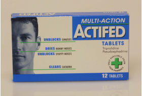 Actifed tablets - 12tablets